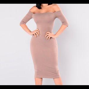 Saira Off The Shoulder Dress